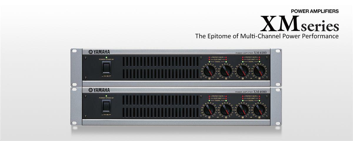 XM Series - Általános leírás - Erősítők - Professzionális audió - Termékek  - Yamaha - Magyarország c0f61f0c70