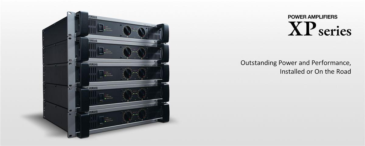 XP Series - Általános leírás - Erősítők - Professzionális audió - Termékek  - Yamaha - Magyarország 1374c877fa