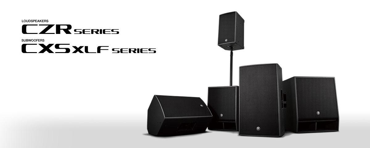 CZR   CXS XLF Series - Általános leírás - Hangfalak - Professzionális audió  - Termékek - Yamaha - Magyarország 6bbd161f4d