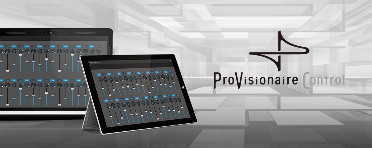 ProVisionaire Control - Általános leírás - Szoftver - Professzionális audió  - Termékek - Yamaha - Magyarország c78ea5b923